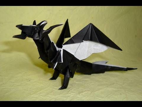 Simple Dragon - Shuki Kato | Created by Shuki Kato Folded by… | Flickr | 360x480