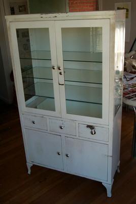 Delightful Vintage Medical Cabinet, Empty By Danagraves, Via Flickr