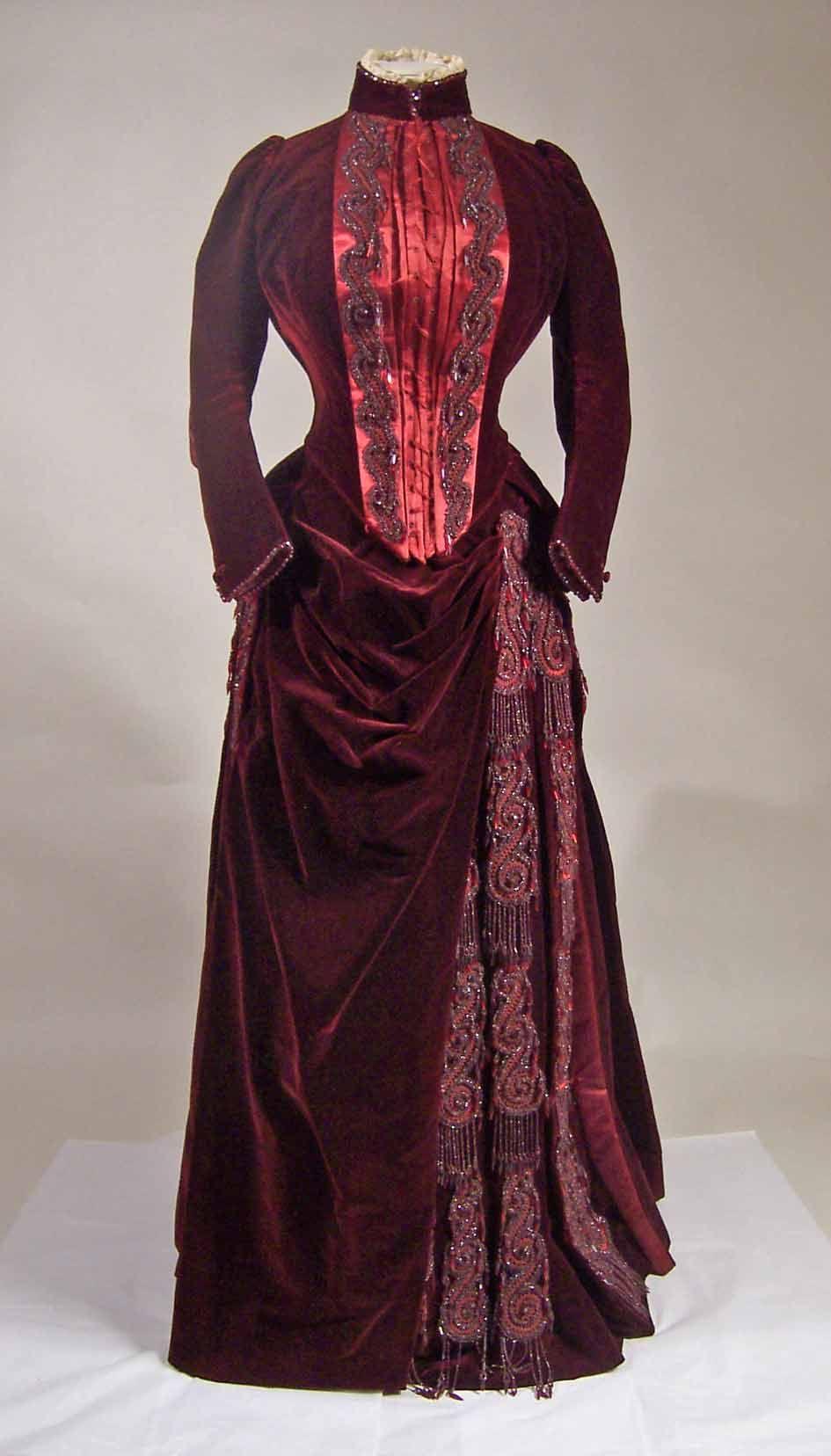 Victorian Velvet & Silk  --  Manchester Art Gallery  --  Manchester, England