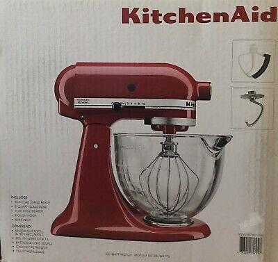 Kitchenaid Tilt Head Stand Mixer New Ksm105gbcer 300w 5
