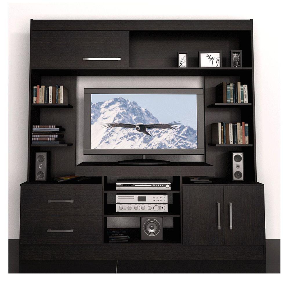 Modular Fiplasto Mo7201 Fravega Modernos Tv Centro  # Muebles Fiplasto