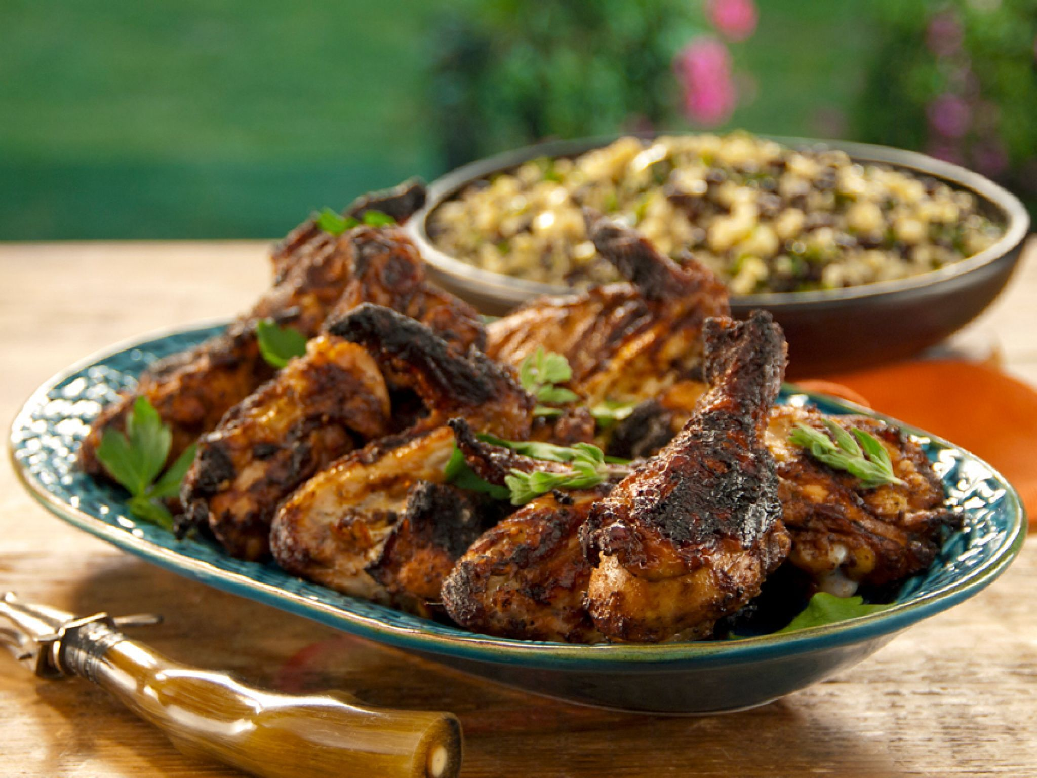 Charcoal grilled chicken sinaloa style with grilled corn black bean charcoal grilled chicken sinaloa style with grilled corn black bean and quinoa relish recipe relish recipes grilled chicken and quinoa forumfinder Images