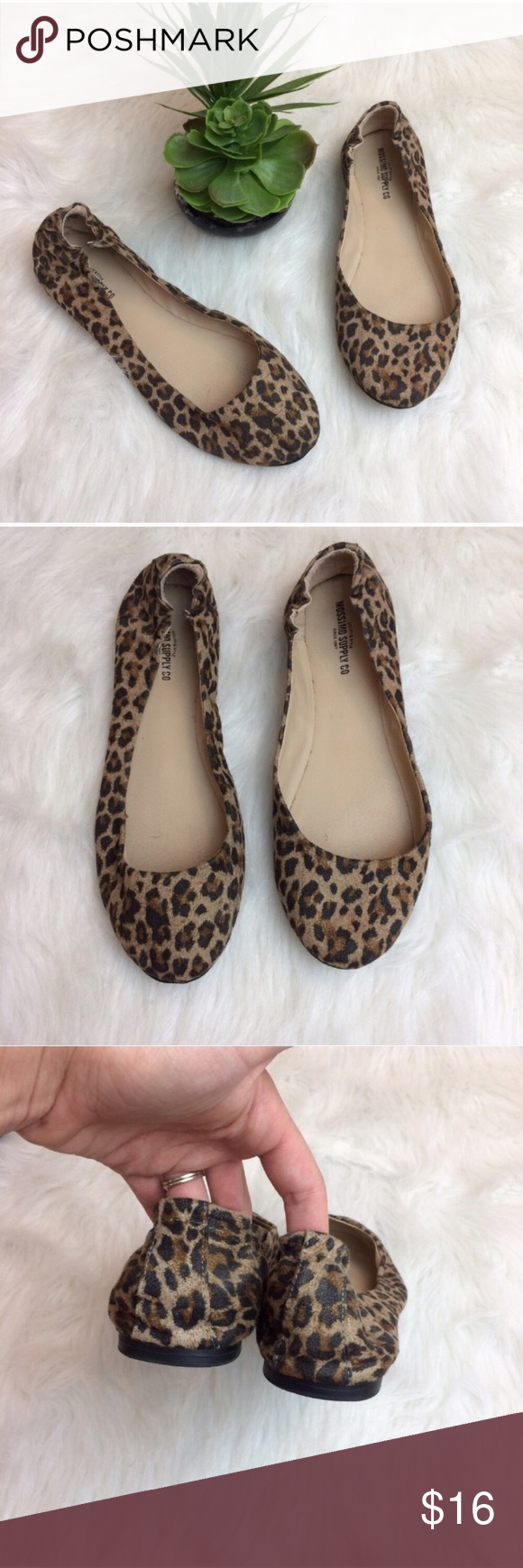 507bf469e708 Mossimo Supply Co. Leopard Flats Mossimo leopard print flats. Size 10.  Excellent condition. Mossimo Supply Co Shoes Flats & Loafers