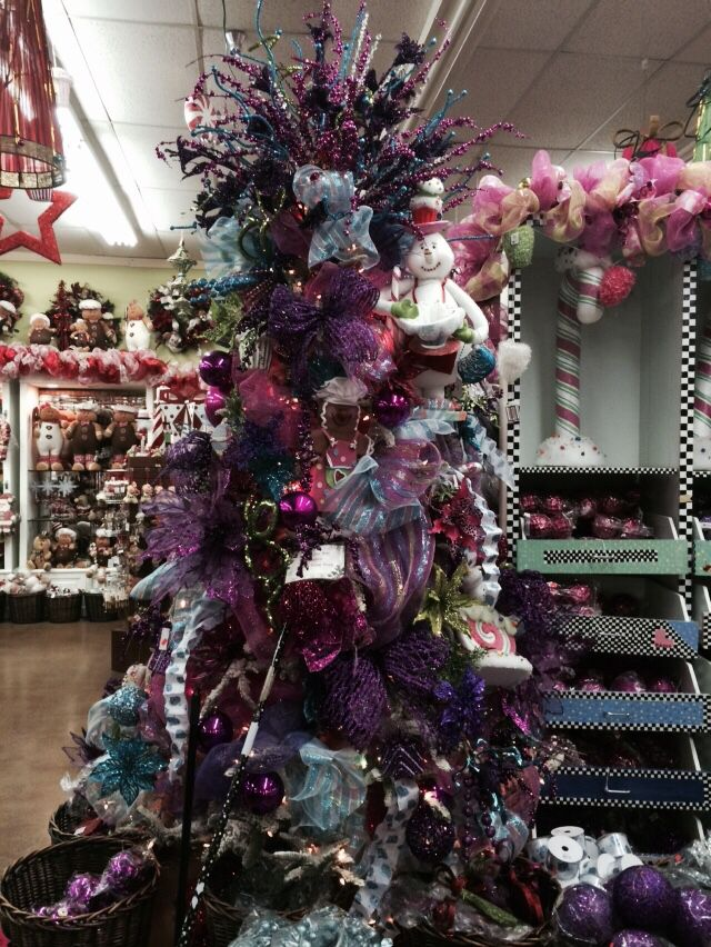 Candyland Frozen Candy Land Colors Christmas Tree At The