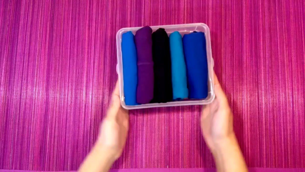 Como Doblar Unos Calzoncillos Boxer Marie Kondo How To Fold A Boxer Ko Konmari Organización De Ropa Organizadores De Ropa
