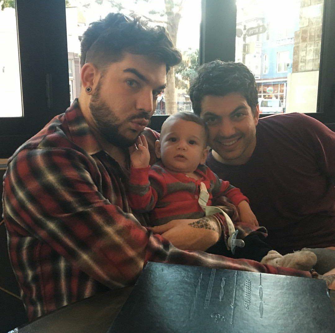 Adam Neil And Remy With Images Adam Lambert Adam Lambert