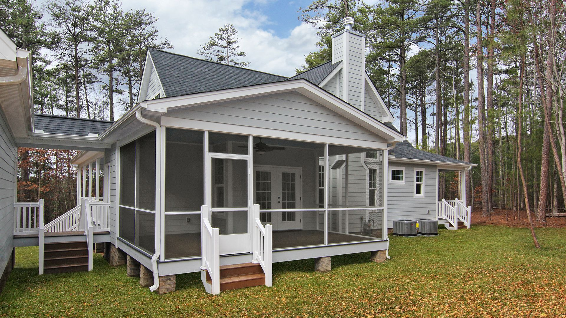 Hampton | Madison homes, Building a house, Screened porch