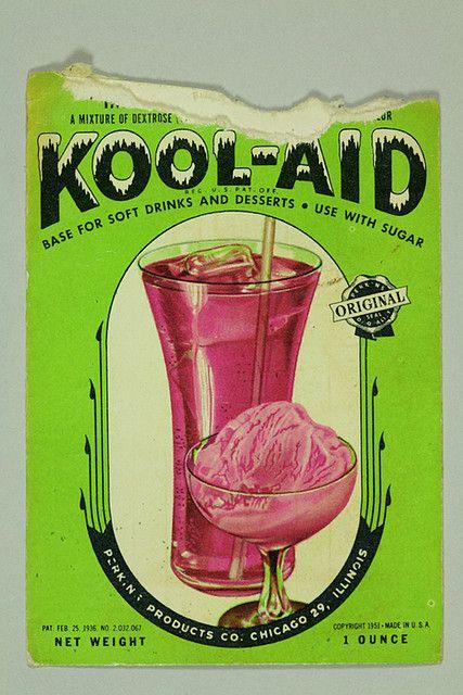 1951 kool-aid packet