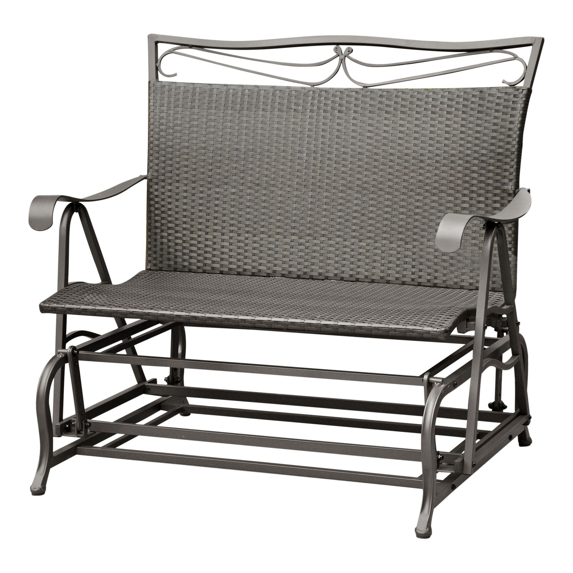 wicker of aluminum storage international bench ideas outdoor caravan barcelona resin