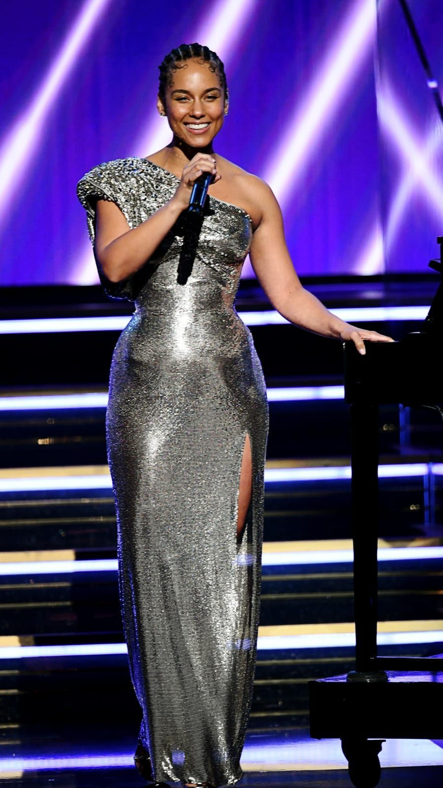 Alicia Keys During The 62nd Annual Grammy Awards On January 26