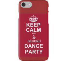 Grey's Anatomy Fans Keep Calm And Dance !  iPhone Case/Skin