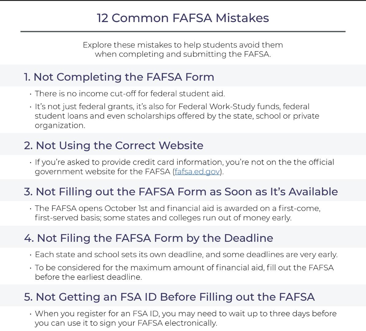 Form pdf fafsa