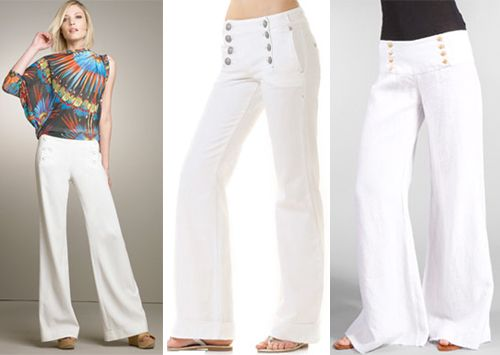 Sailor pants for summer 2012