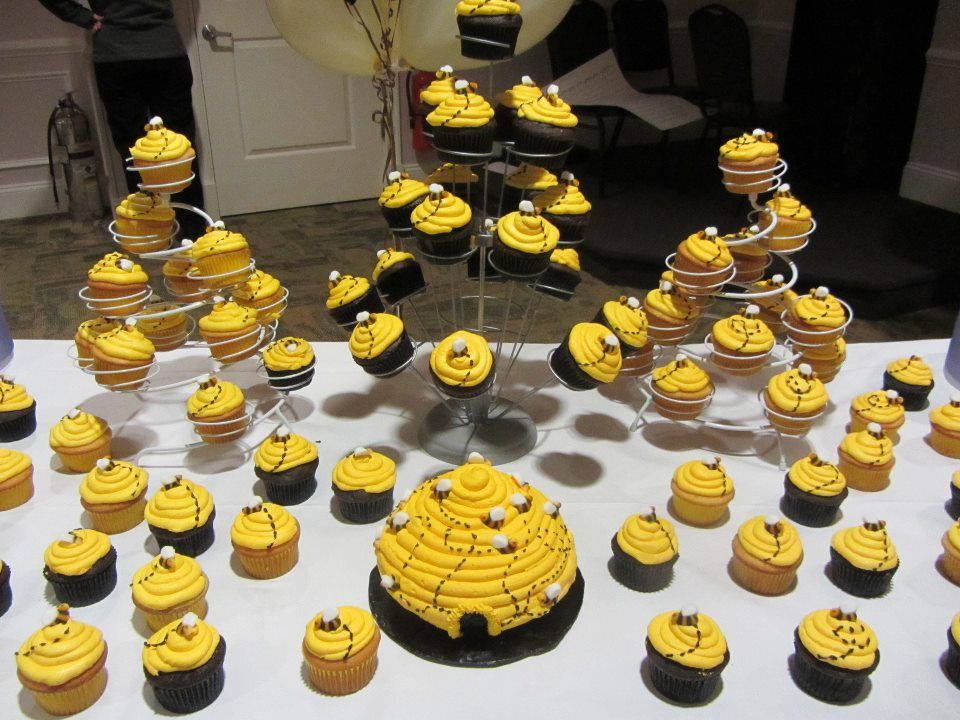 bumble bee baby shower homemade cakes pinterest