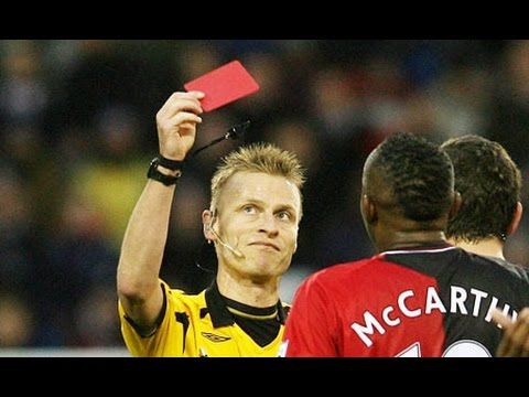 best funny red card moments in football history best funny red