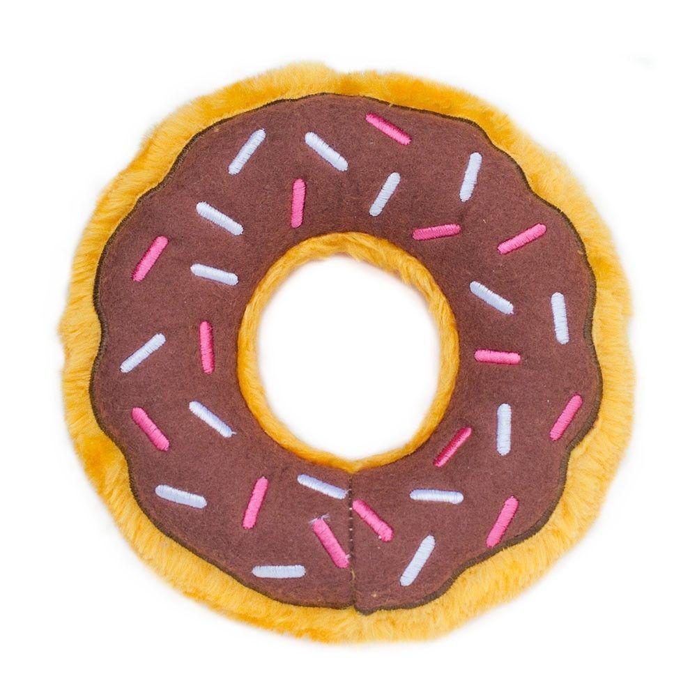 Donut With Sprinkles Plush Dog Toy Diy Dog Toys Pet Toys Toy