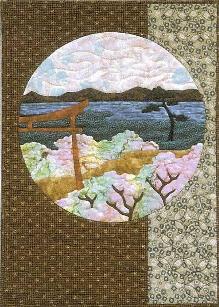 Postcards From Japan Applique Patterns Patchwork And Applique