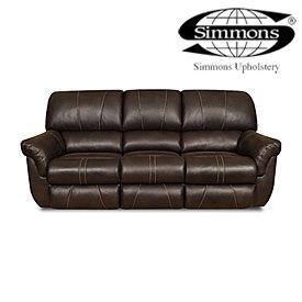 Simmons 174 Bucaneer Cocoa Reclining Sofa At Big Lots