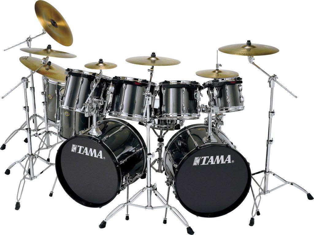 6 Piece Tama Double Bass Drum Set