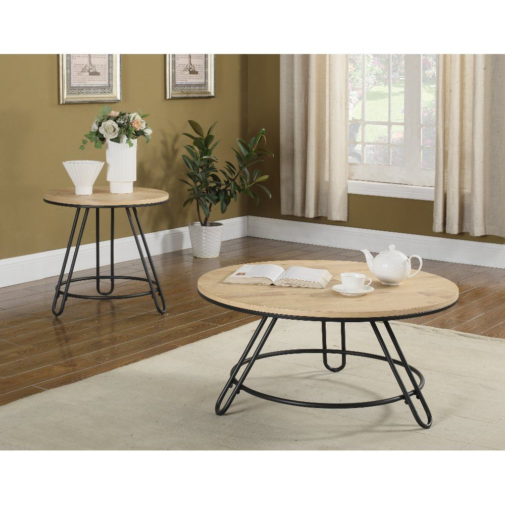 Natural Light Brown Round End Table Penbrook Rc Willey Furniture Store Coffee Table Coffee Table Setting Furniture [ 1000 x 1000 Pixel ]