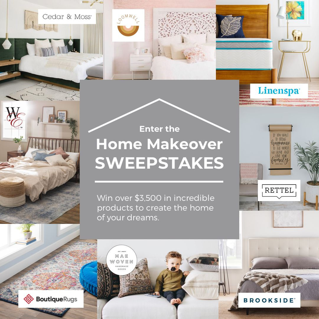 Win A Home Makeover Over 3 500 In Product Win A House Sweepstakes Contests Sweepstakes