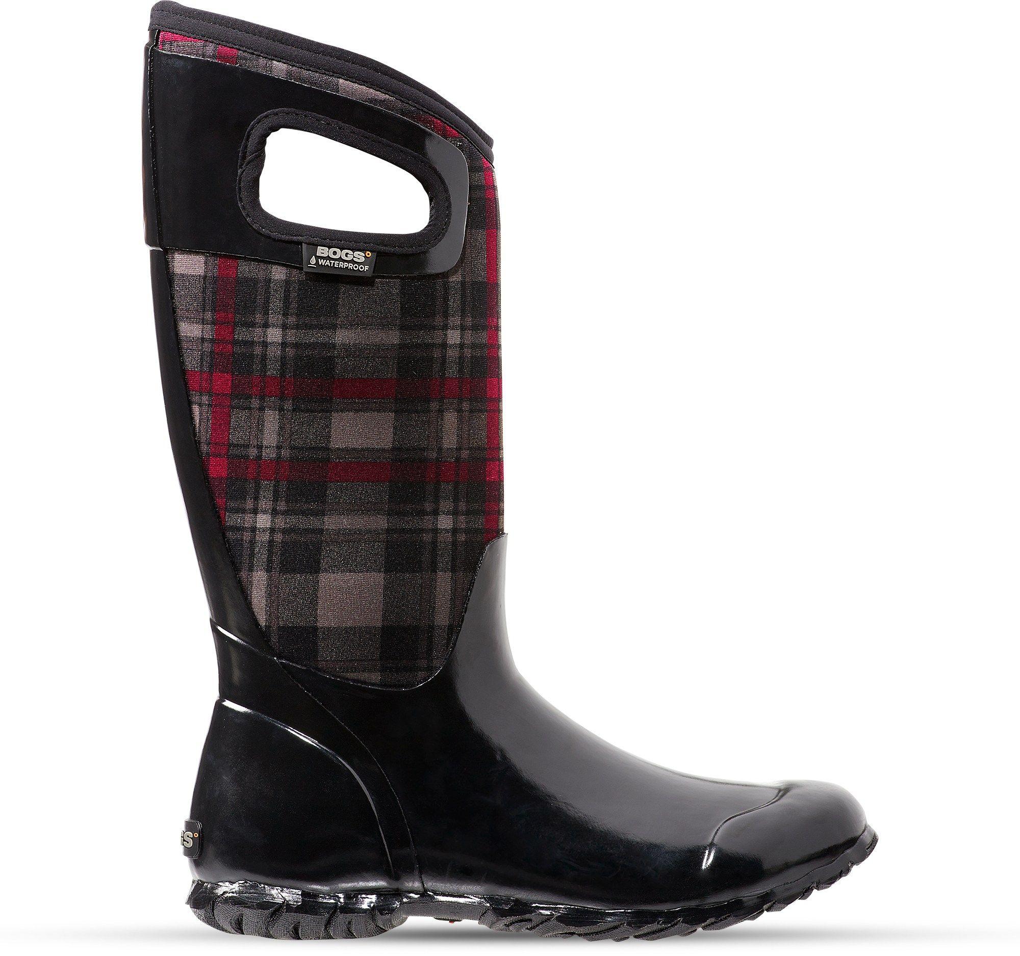 Bogs North Hampton Plaid Rain Boots