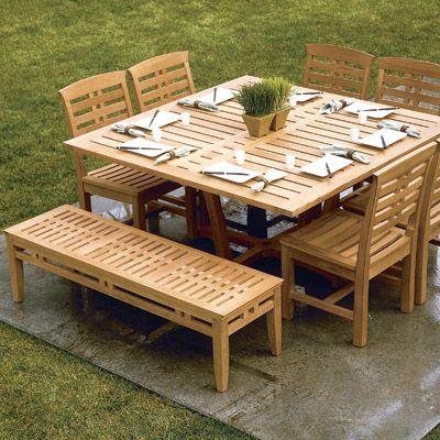 Long Patio Dining Table Under Pergola Pergola Patio Patio