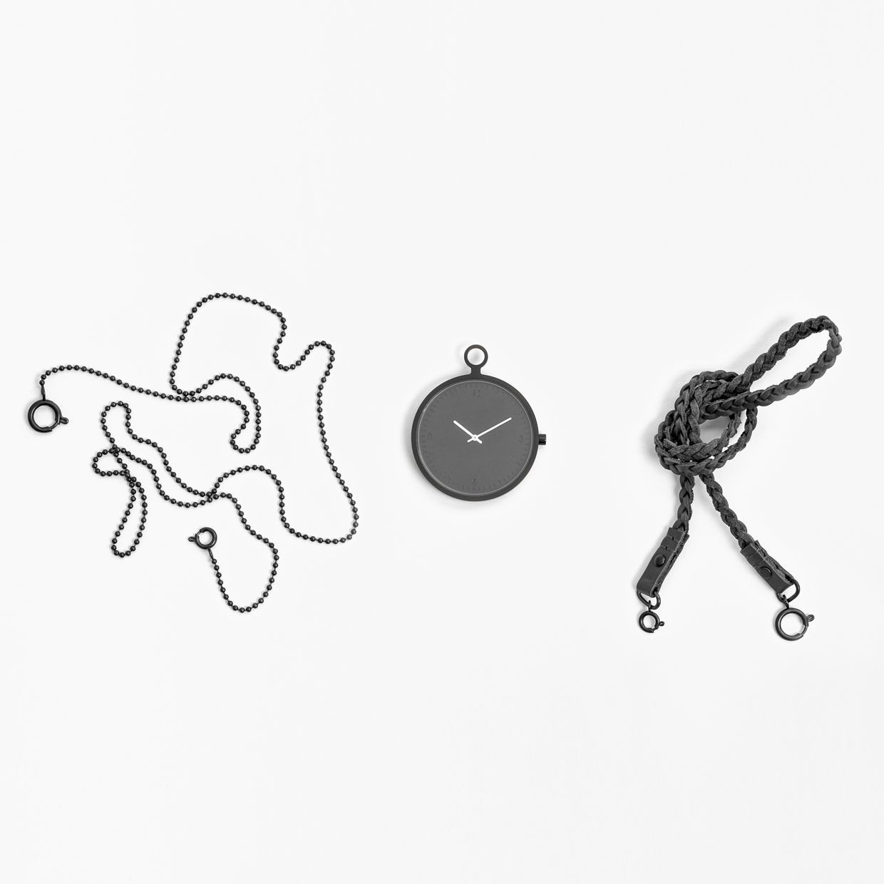 Stockholm design collective People People built a name for itself through product and experience design collaborations with big clients like Ikea, as well as smaller companies like the Bookman bicycle accessories brand. They wanted to update the traditional pocket watch, in the same way that fashion designers had updated the three piece suit for modern tastes. #watches #design