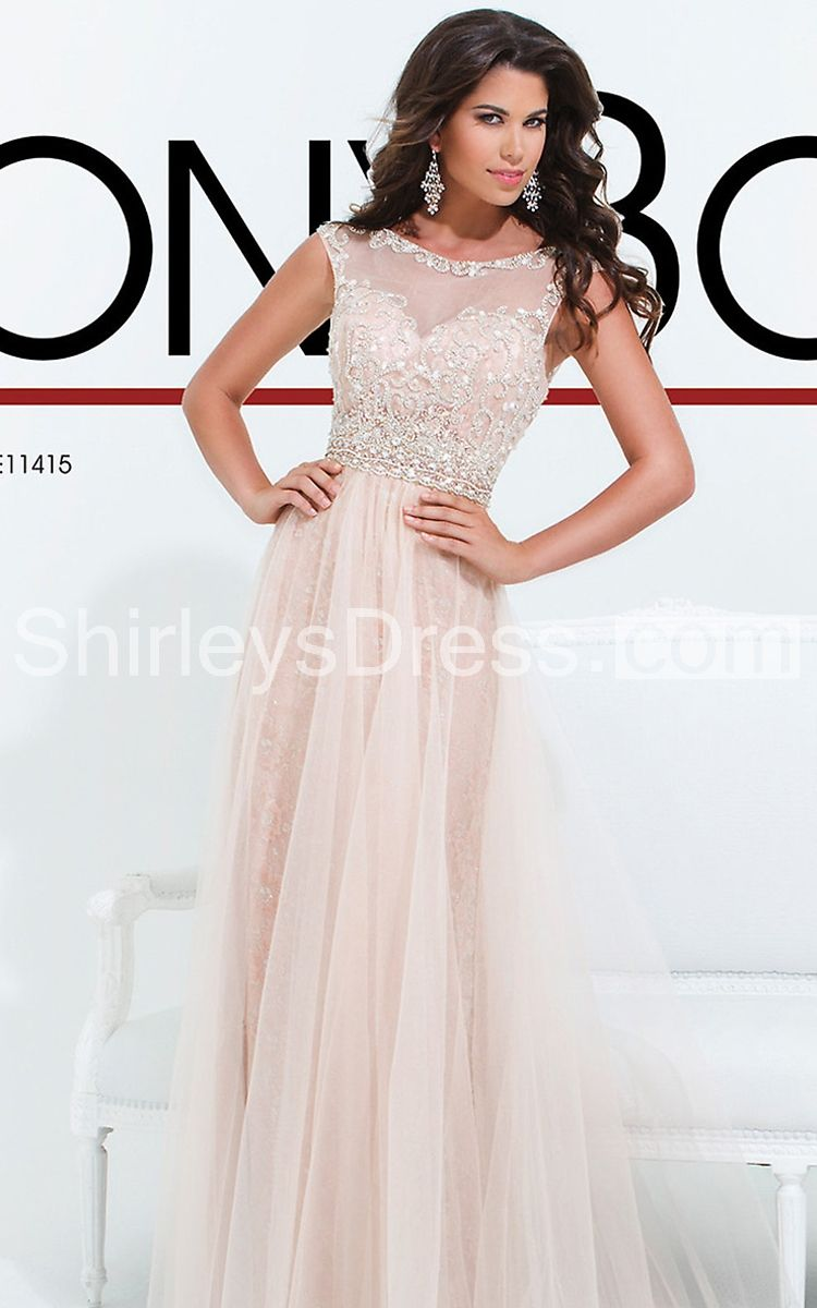 Fabulous aline long gown with beaded bodice prom ideas