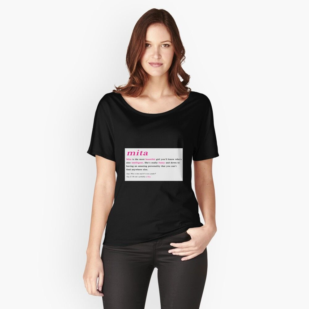 GRL PWR Women/'s Relaxed T-Shirt
