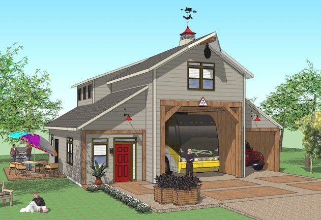 Image Result For Rv Barndominiums Home Rv Garage Rv