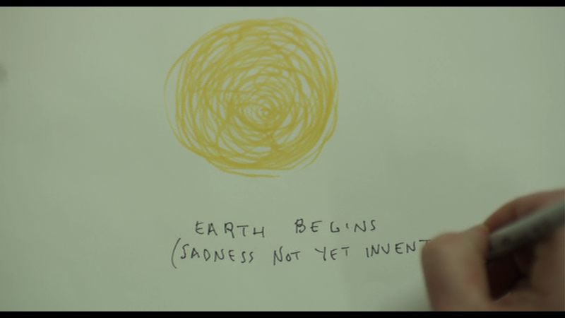 earth begins (sadness not yet invented)