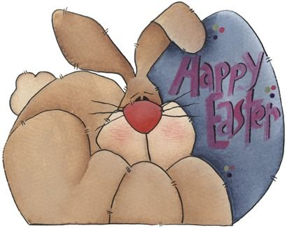 clipart imagem decoupage Happy Easter