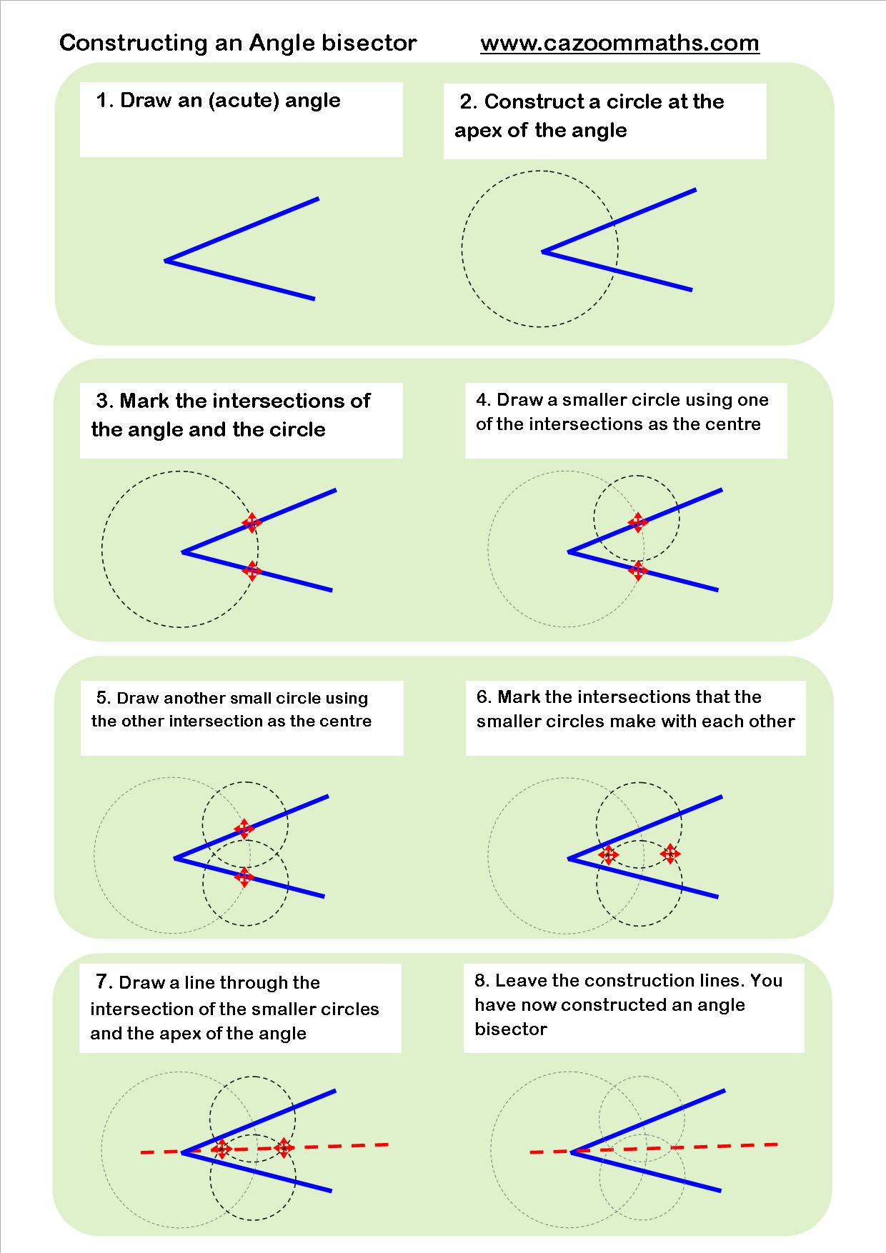 Geometric construction worksheet Awesome