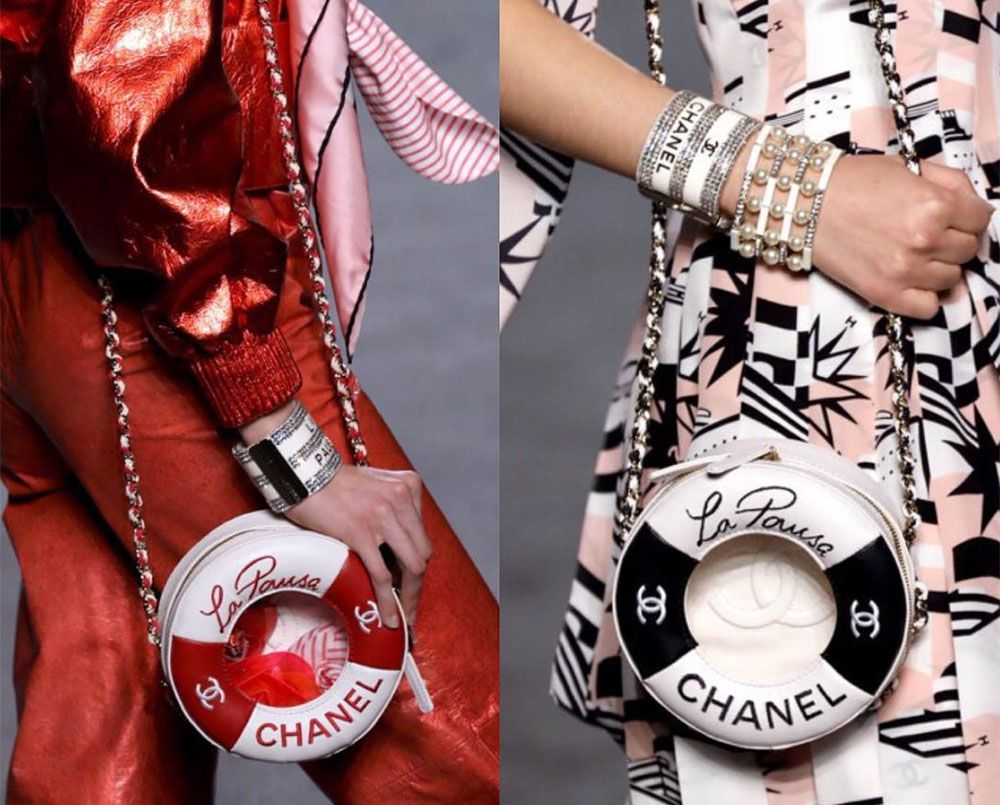 446ea452ab2130 Chanel's Cruise 2019 Collection Takes to the High Seas with Plenty of  Nautical-Themed Bags - PurseBlog