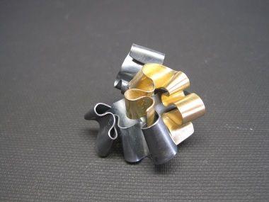 Letizia Plankensteiner – Schmuckunikate, Wellenring Silber Gold
