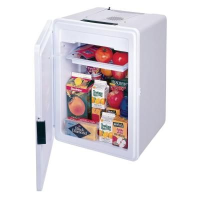 Koolatron 36 Qt Kool Kaddy Kooler 12 Volt P75 The Home Depot Portable Cooler Small Electric Cars Camping Coolers
