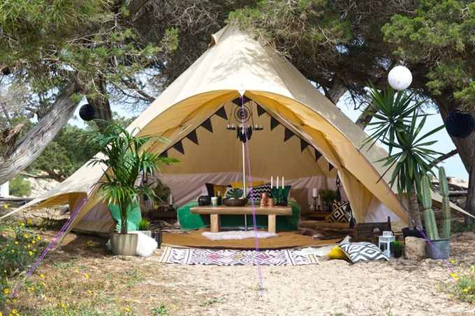 CAMPING NEWS | Boutique Camping Launches New Star Bell Tent Range on Kickstarter - Camping with Style Camping Blog | Activities • Glamping • Travel • Adventure