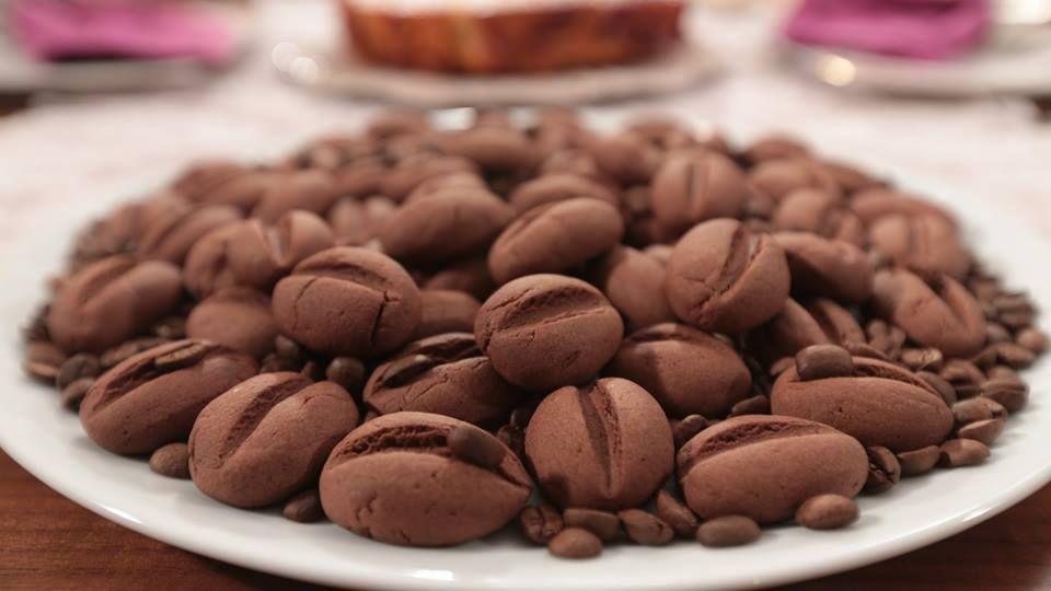 Kahve Çekirdeği Kurabiyesi   Nursel'in Mutfağından Yöresel Yemek Tarifleri