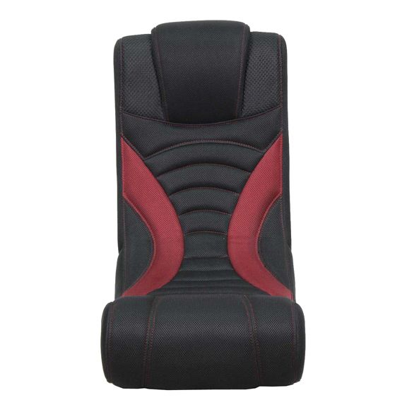 Red Curve Rocker Gaming Chair With Express 2 0 Speakers And
