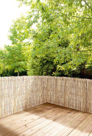 Dim L 3 X H 1 2 M Canisse Naturelle En Lattes De Bambou Garantie 2 Ans A Canisse Bambou Canisse Idees Jardin