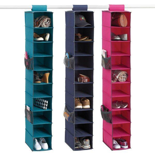 Gearbox 10 Shelf Shoe Organizer Bed Bath Beyond Closet
