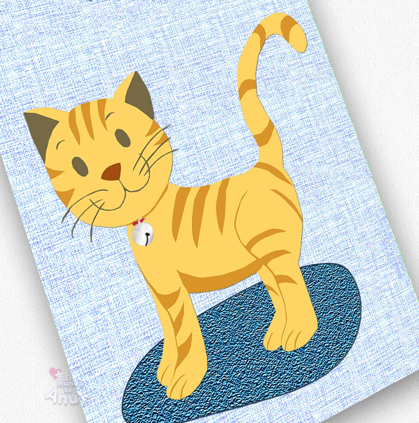 Wall Art, Cute Animals, Cats Prints, Nursery Decor, Golden Kitty ...