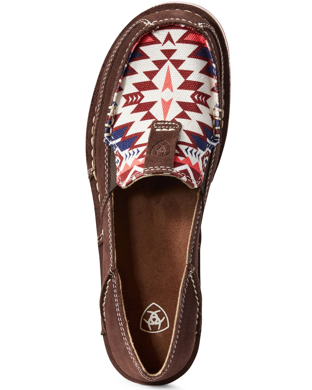 Ariat Women's Aztec Cruiser Shoes - Moc