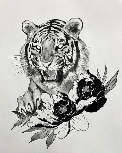 Pin by SoulProvider on Body Art. | Tiger tattoo, Tattoos ...