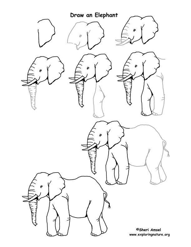 Blissfull: Rita Tecknade Figurer Steg För Steg