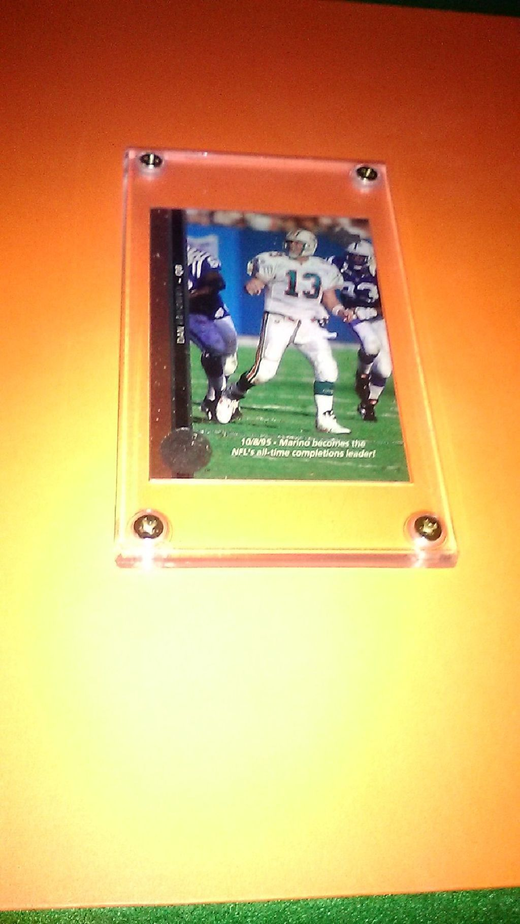 Dan Marino Football Card Football cards, Dan marino, Marino