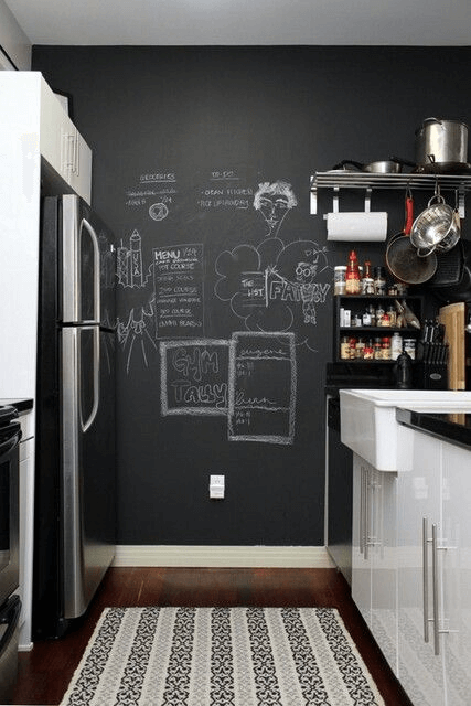 Chalkboard For Bare Kitchen Wall Decor Dreamy Kitchen In 2019