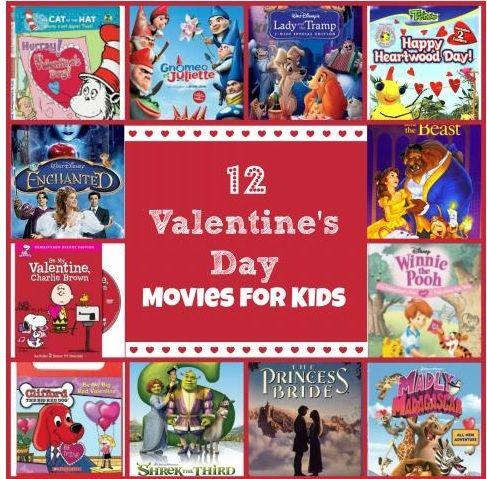 12 Valentine S Day Movies For Kids Kids Stuff Pinterest