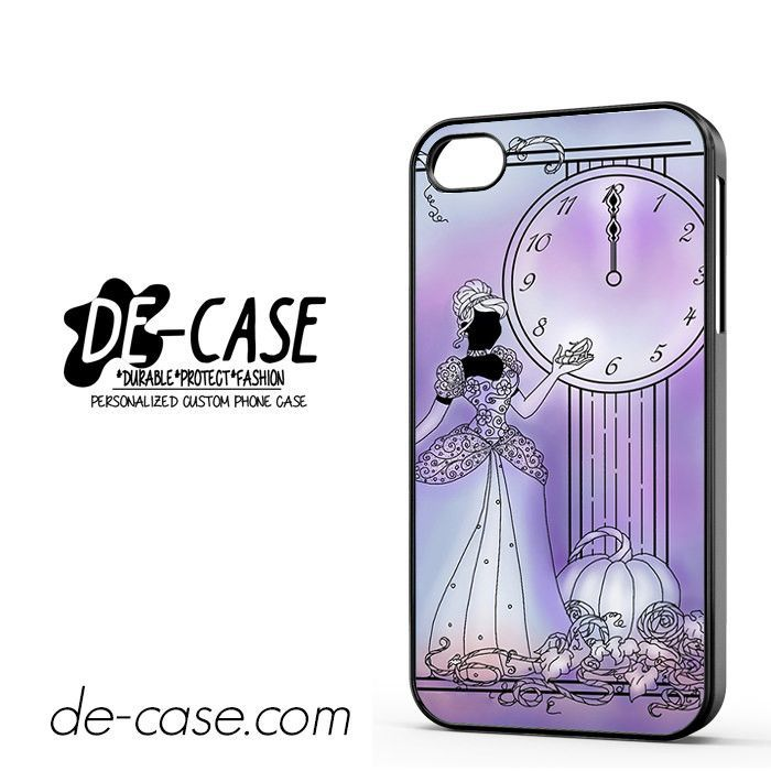 Cinderella 12 Clock DEAL-2620 Apple Phonecase Cover For Iphone 4 / Iphone 4S